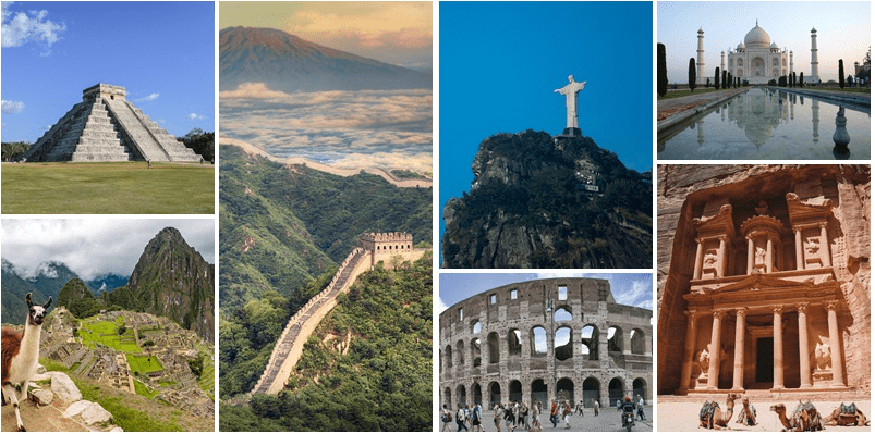 La 7 maravillas del mundo moderno